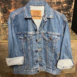 Vinatge Levi Strauss Denim Jacket Size Medium